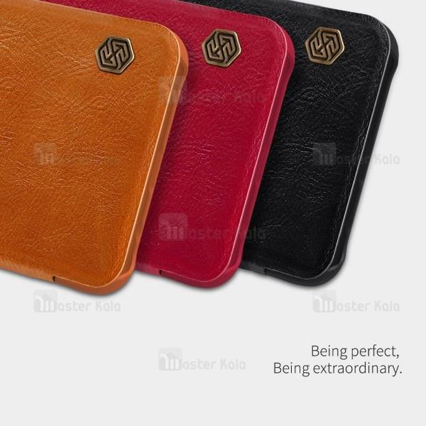 کیف چرمی نیلکین مدل Qin مناسب Huawei Mate 20 Lite
