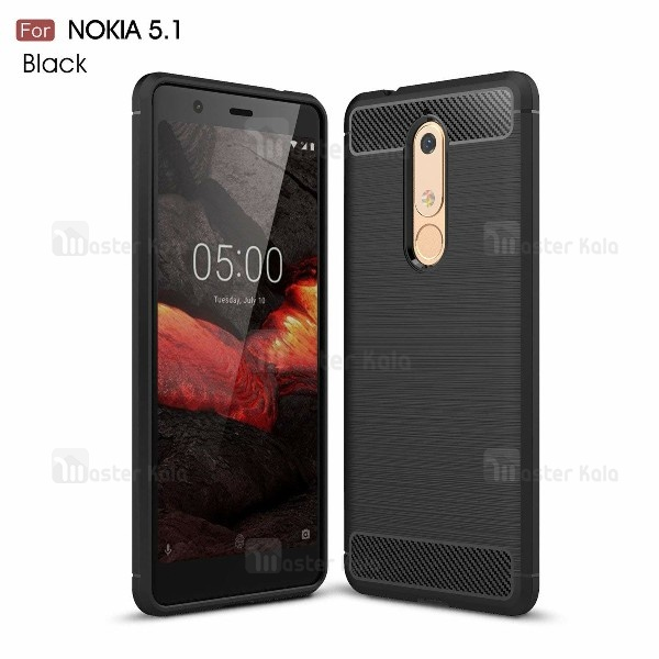 قاب فیبر کربنی Rugged Armor مناسب Nokia 5.1 2018