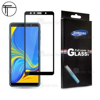 محافظ صفحه شیشه ای تمام صفحه تمام چسب TT برای Samsung Galaxy A7 2018 / A750