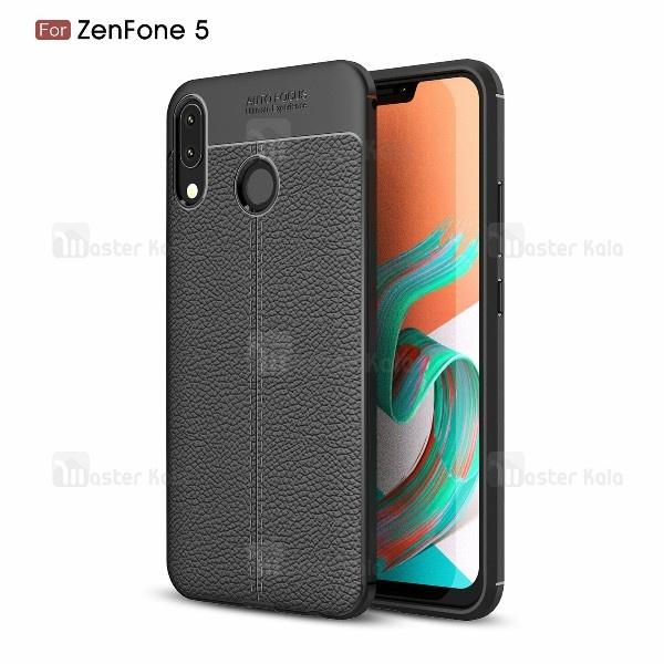 قاب محافظ ژله ای طرح چرم Asus Zenfone 5 ZE620KL مدل Auto Focus