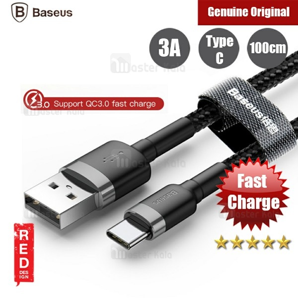 کابل Type C فست شارژ بیسوس Baseus Cafule Qualcomm 3.0 و انتقال اطلاعات
