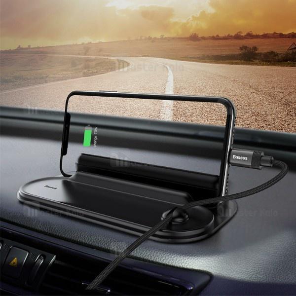 پایه نگهدارنده 4 کاره بیسوس Baseus Horizon Silicone Car Holder ACNUM-PM01