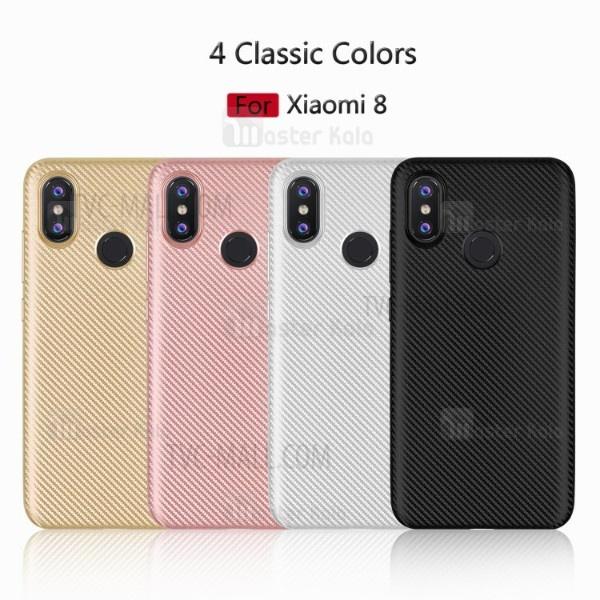 قاب ژله ای فیبر کربنی Haimen مناسب Xiaomi Mi 8 / Mi8