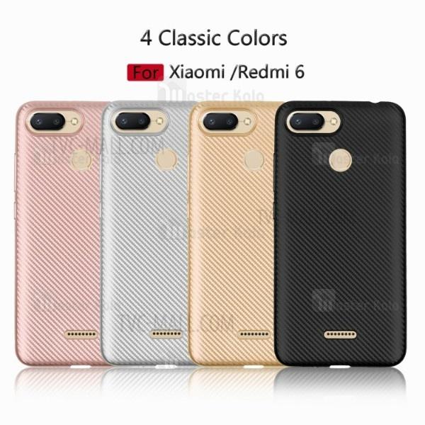 قاب ژله ای فیبر کربنی Haimen مناسب Xiaomi Redmi 6