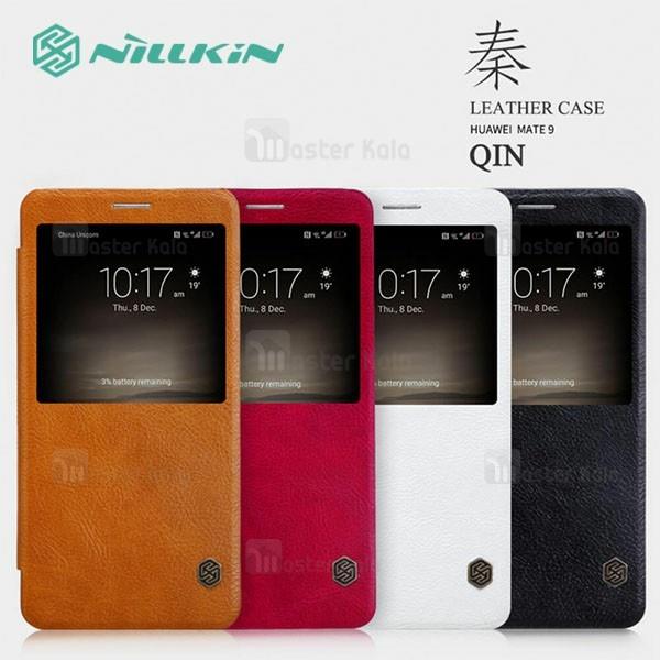 کیف چرمی نیلکین هواوی Huawei Mate 9 Nillkin Qin Leather Case