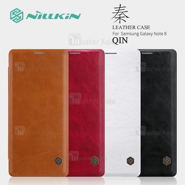 کیف چرمی نیلکین سامسونگ Samsung Galaxy Note 8 Nillkin Qin