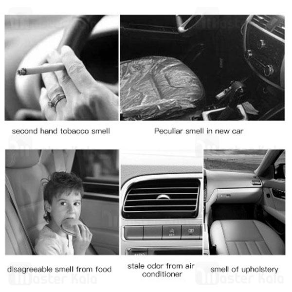 خوشبو کننده هوا خودرو بیسوس Baseus Car Fragrance Fabric Artifact SUXUN-BY01