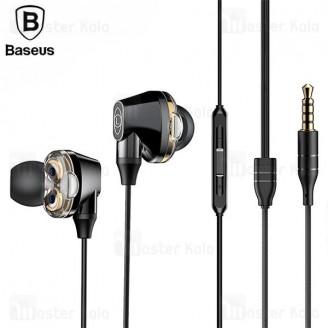 هندزفری بیسوس Baseus H10 Encok Dual Moving-Coil Wired Headset NGH10-01