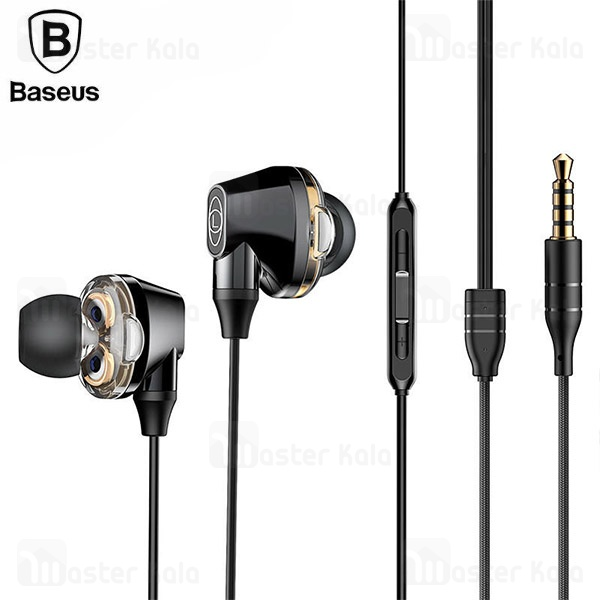 هندزفری بیسوس Baseus H10 Encok Dual Moving-Coil Wired Headset NGH10-01