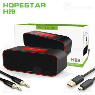 اسپیکر بلوتوث ضد آب هاپ استار Hopestar H29 Bluetooth Speaker رم خور