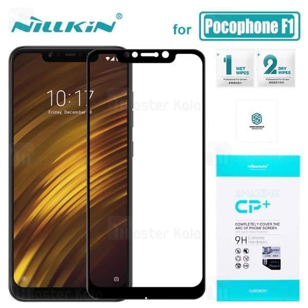 محافظ صفحه شیشه ای تمام صفحه نیلکین شیائومی Xiaomi Poco F1 Nillkin CP+ Glass