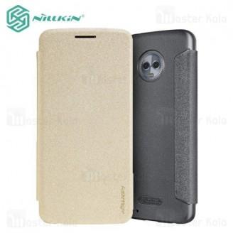 کیف کلاسوری نیلکین مدل Sparkle مناسب Motorola Moto G6 / Moto 1S