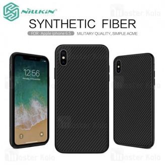 قاب فیبر کربنی نیلکین آیفون Apple iPhone XS Max Synthetic Fiber