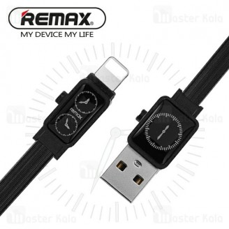 کابل لایتنینگ ریمکس Remax RC-113i Watch طرح ساعت با توان 2.4 آمپر