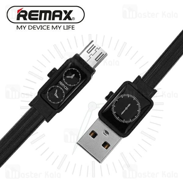 کابل میکرو یو اس بی ریمکس Remax RC-113m Watch طرح ساعت با توان 2.4 آمپر