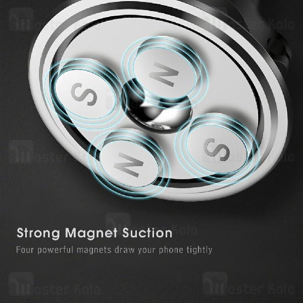 پایه نگهدارنده آهنربایی بیسوس Baseus Magnetic Air Vent Car Holder SUGX-A01