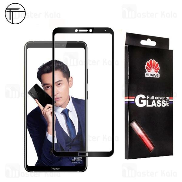 محافظ صفحه شیشه ای تمام صفحه تمام چسب TT برای Huawei Honor Note 10