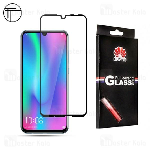 محافظ صفحه شیشه ای تمام صفحه تمام چسب TT هواوی Huawei P Smart 2019
