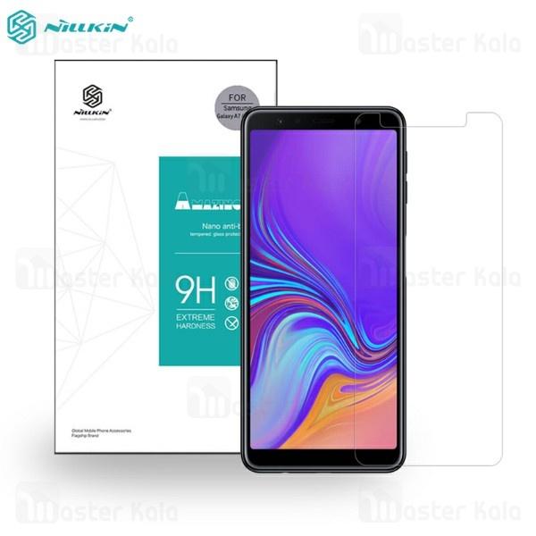 محافظ صفحه نمایش شیشه ای نیلکین سامسونگ Samsung Galaxy A7 2018 Nillkin H Glass