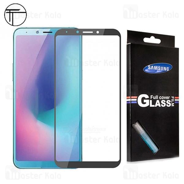 محافظ صفحه شیشه ای تمام صفحه تمام چسب TT سامسونگ Samsung Galaxy A6s