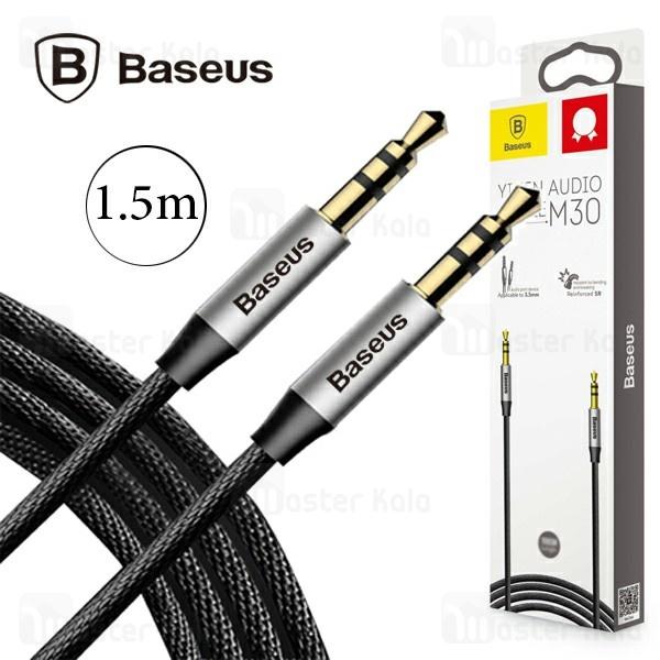 کابل انتقال صدا Aux بیسوس Baseus M30 Yiven AUX Audio Cable CAM30-CS1 طول 1.5 متر