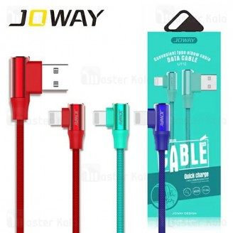 کابل شارژ لایتنینگ جووی Joway Li112 Lightning Data Cable توان 2 آمپر