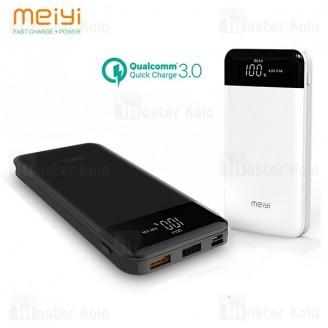 پاوربانک 10000 میلی آمپر فست شارژ Meiyi GT20 Lite Qualcomm 3.0