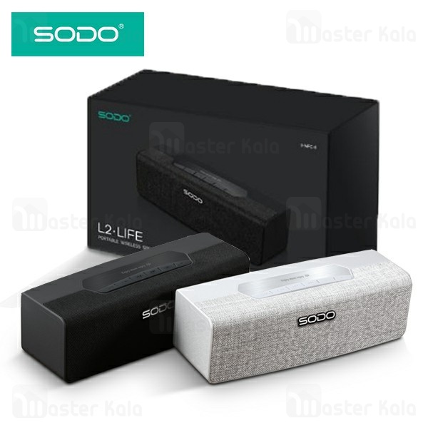 اسپیکر بلوتوث سودو SODO L2 Life Portable Wireless Speaker