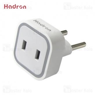 مبدل برق و محافظ هادرون Hadron HTH-A08 Surge Protector And Adaptor