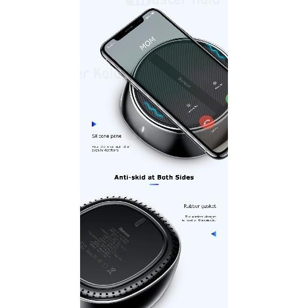 شارژر وایرلس و هاب 3 پورت بیسوس Baseus Star 2 in 1 Desktop Wireless