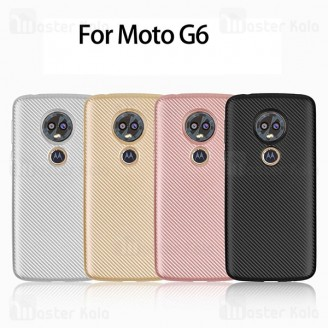 قاب ژله ای فیبر کربنی Haimen موتورولا Motorola Moto G6
