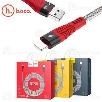کابل لایتنینگ هوکو Hoco U32 Data Cable توان 2.4 آمپر و بدنه فلزی