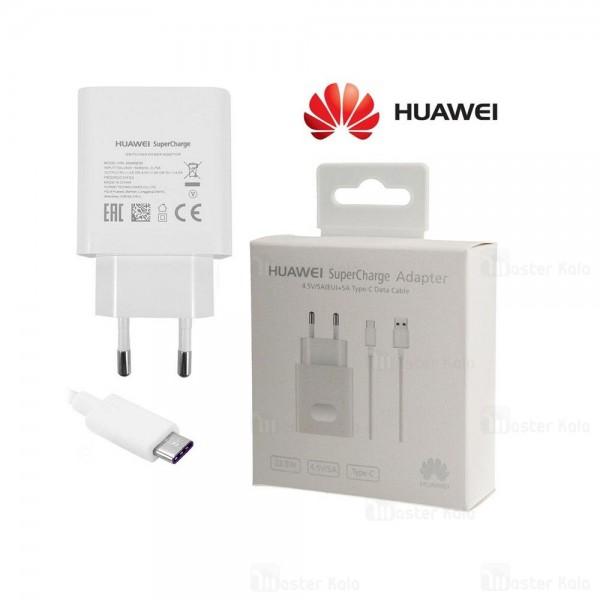 شارژر اصلی سوپر شارژ هواوی Huawei SuperCharge 5A کابل Type C توان 5 آمپر