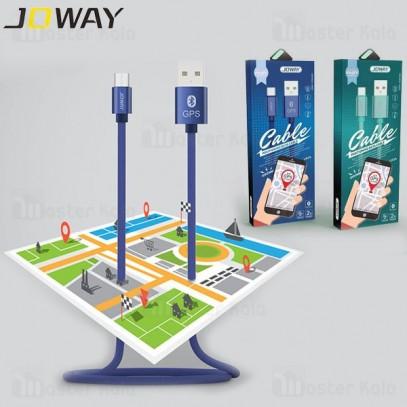 کابل میکرو یو اس بی جووی Joway LM29 با قابلیت بلوتوث و GPS