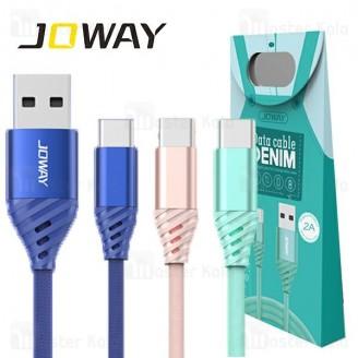 کابل Type Cجووی Joway TC12 DENIM Type C Data Cable توان 2 آمپر