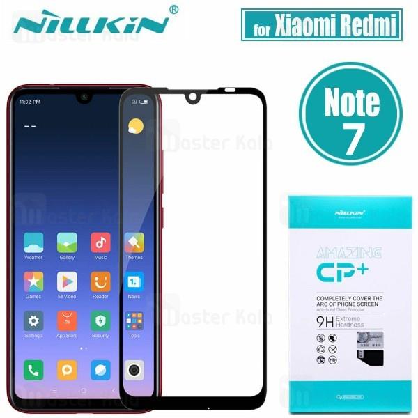 محافظ صفحه شیشه ای تمام صفحه نیلکین شیائومی Xiaomi Redmi Note 7  / Note 7 Pro Nillkin CP+ Glass
