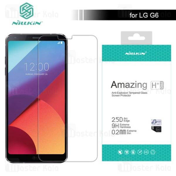 محافظ صفحه شیشه ای نیلکین ال جی LG G6 Nillkin H+ Pro Glass