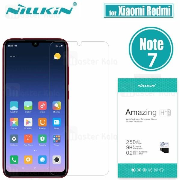 محافظ صفحه نمایش شیشه ای نیلکین شیائومی Xiaomi Redmi Note 7 / Note 7 Pro H+ Pro Glass
