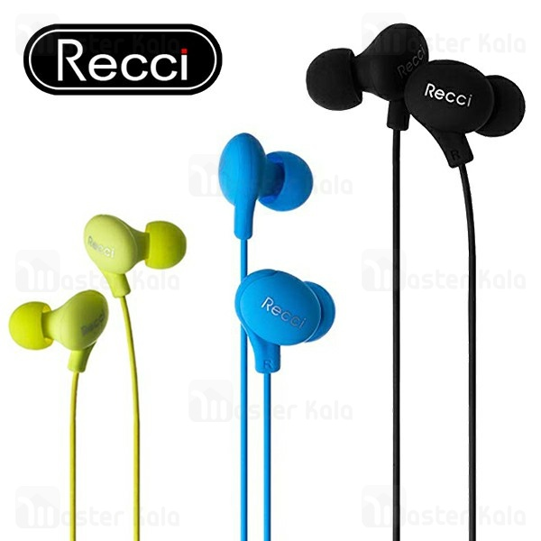 هندزفری سیمی رسی Recci REW-B01 Candy Wired headphone