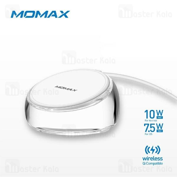 شارژر وایرلس 10 وات مومکس Momax UD8 Q.Dock Crystal طرح کریستالی