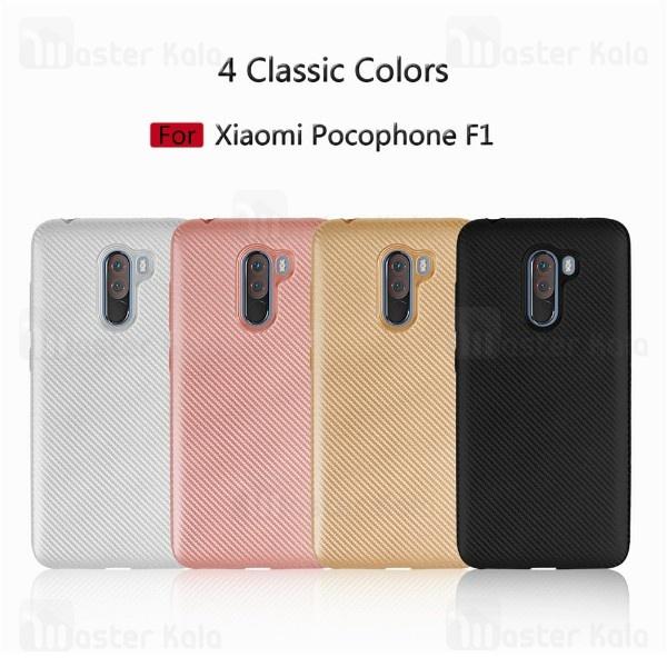 قاب ژله ای فیبر کربنی Haimen شیائومی Xiaomi Poco F1 / Pocophone F1