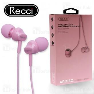 هندزفری سیمی رسی Recci REW-C01 Arioso Wired headphone