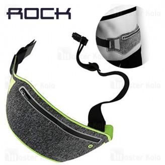 کیف کمری ورزشی راک Rock Slim Sport Waist Bag 2 مناسب گوشی های 7 اینچ