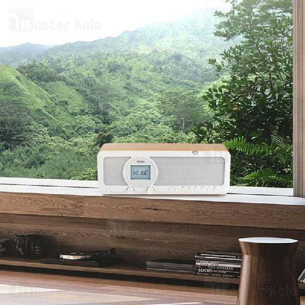 اسپیکر بلوتوث رومیزی هوکو Hoco BS12 Earl Wooden Tabletop