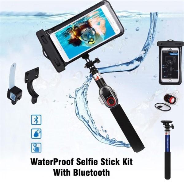 مونوپاد ضد آب شاتر دار Ashutb XPlay KIT-S6WP Selfie WaterProof