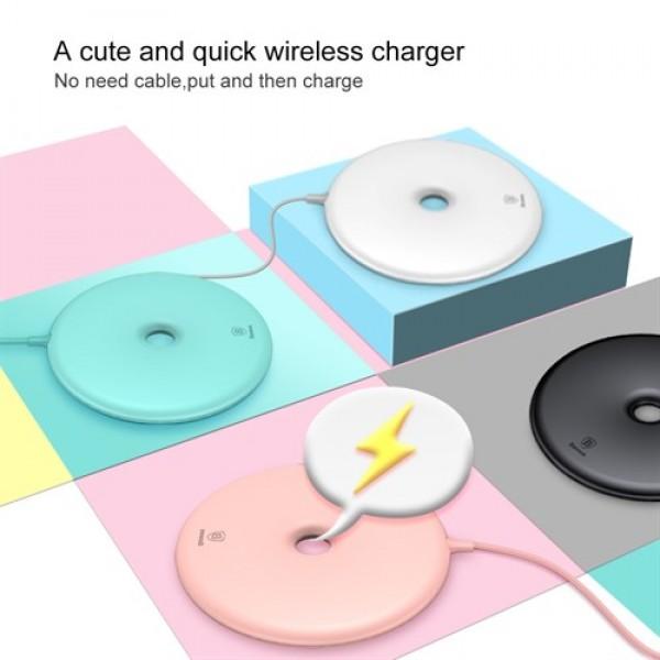 شارژر وایرلس بیسوس Baseus Donut Wireless Charger BSWC-09 طرح دونات