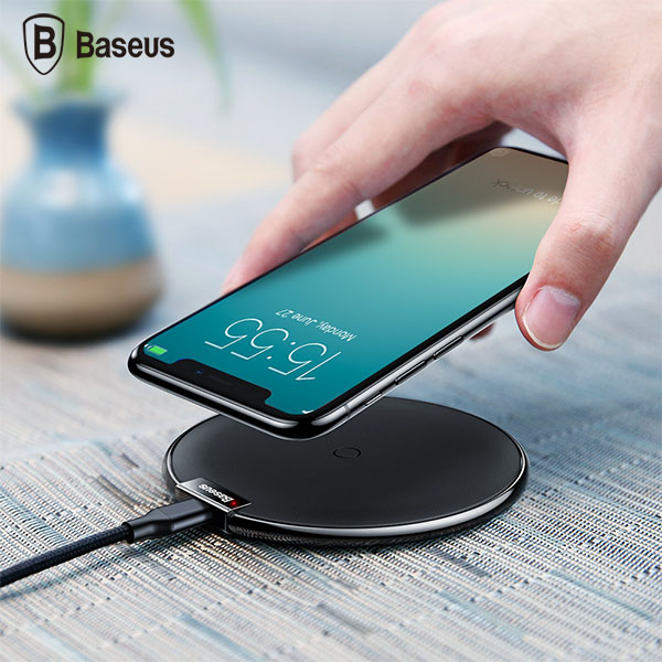 شارژر وایرلس بیسوس Baseus IX WXIX-01 Desktop Wireless Charger