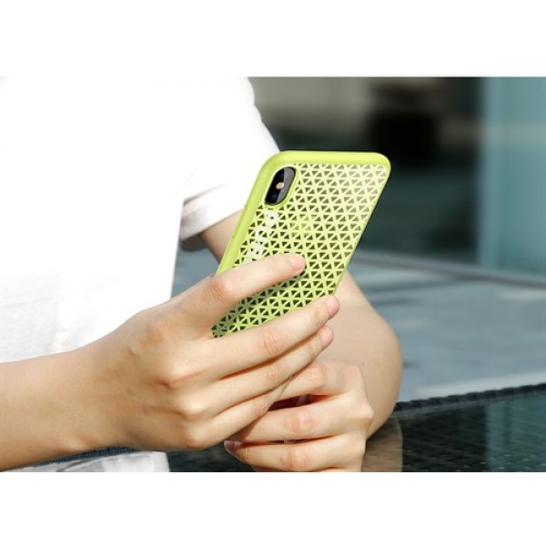 قاب محافظ ورزشی بیسوس Parkour Case مناسب Apple iPhone X