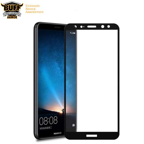 محافظ شیشه ای تمام صفحه تمام چسب مارک بوف Huawei Mate 10 Lite/Nova 2i
