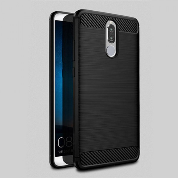 قاب محافظ ژله ای هواوی Huawei Mate 10 Lite / Nova 2i Fiber Carbon Rugged Armor